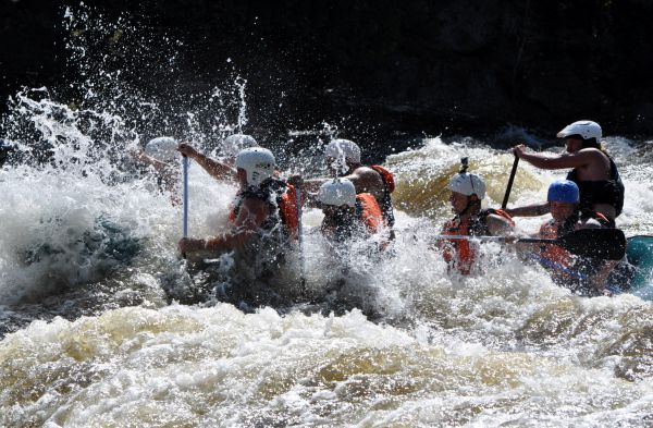 Dead River White Water Rafting